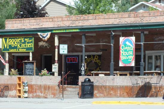 Maggie's Kitchen: Best Burger @ 10,000 Plus Feet!