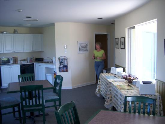 Annapolis Royal Inn: Breakfast Area