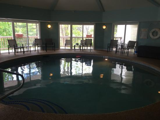 The Grand Hotel: indoor pool