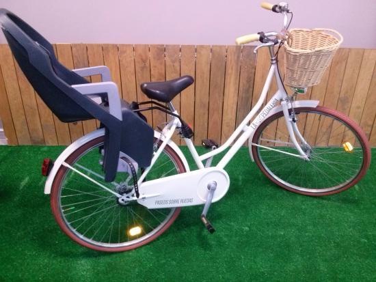 Bicicleta Con Silla Portabebes Picture Of La Pedaleria Baiona