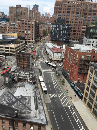 plunge Rooftop Bar & Lounge at Hotel Gansevoort: View from the outdoor lounge area