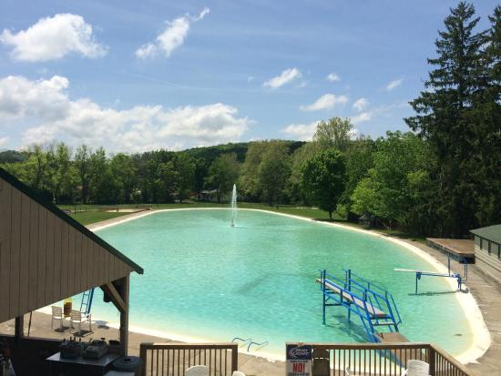 Ligonier, PA: The Biggest Pool in PA