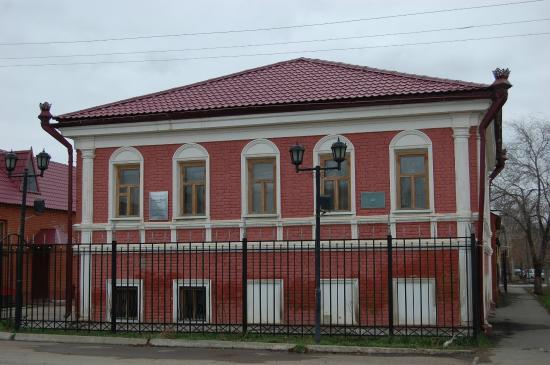 Oral, Kazakhstan: Здание музея