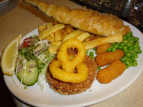 Gershwins Coffee House: Sea Food Platter