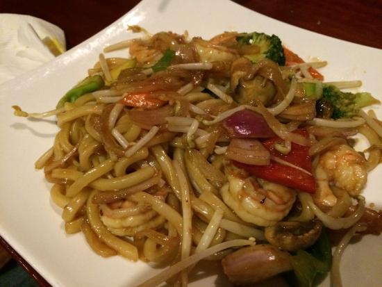 Dao Fusion Cuisine & Lounge: udon with shrimp