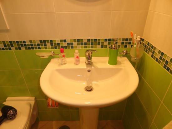 Back to Sorrento: le lavabo