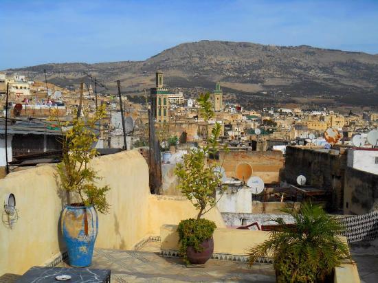 Dar Lalla Kenza: roof terrace