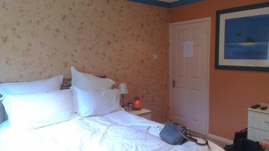 Topos Bed & Breakfast: bedroom area
