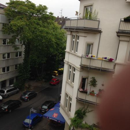 Villa Orange: Blick vom Balkon