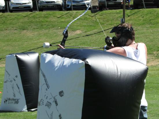 Archery Tag at The Playground, Queenstown