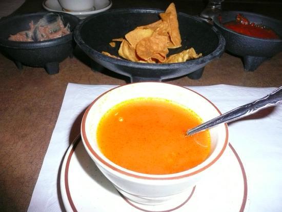 Viva Zapatas Mexican Restaurant Tomato Soup