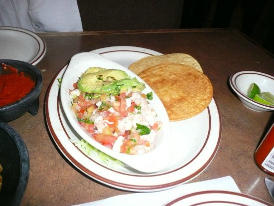 Viva Zapatas Mexican Restaurant Ceviche De Camaron
