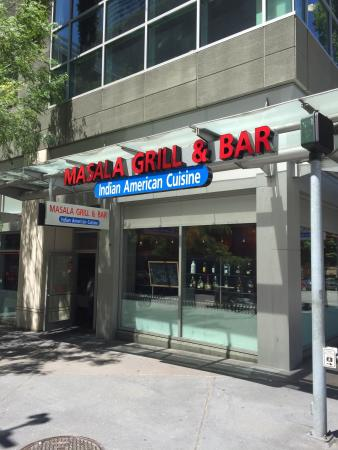 seattle review of masala grill bar seattle wa tripadvisor