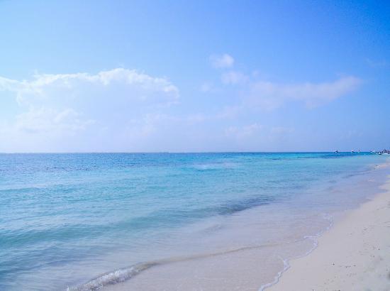 Hotel Ojo De Agua: Beach