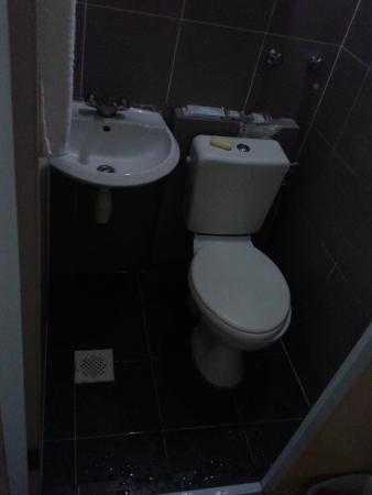 Meriton Hotel: Very very Small toilet