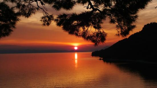 Sunset at Igrane