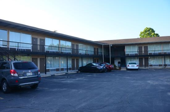 Days Inn Rolla: Pretty much the whole thing