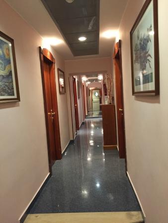 Hotel Ercoli : área do hotel - corredor