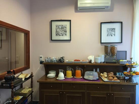 Hotel Ercoli : café da manhã