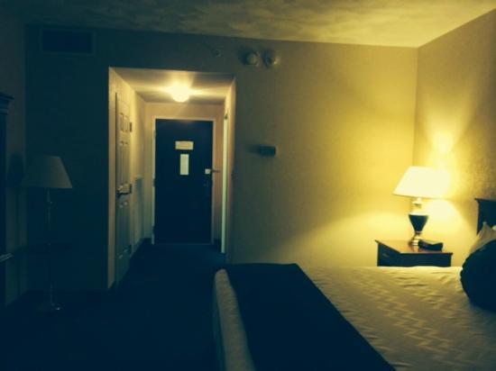 The Parkway Hotel: View to door