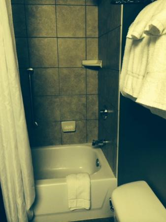 The Parkway Hotel: Shower