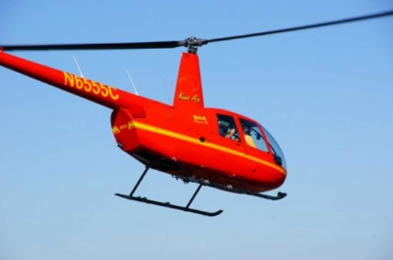 Kiwi Air Helicopters: N6555C R44 Helicopter