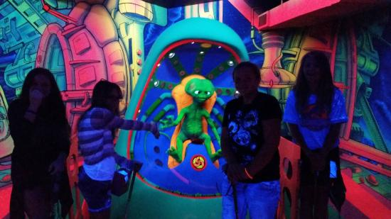 Alien Vacation Mini Golf Attraction
