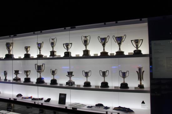 Camp Nou Trophy Cabinet