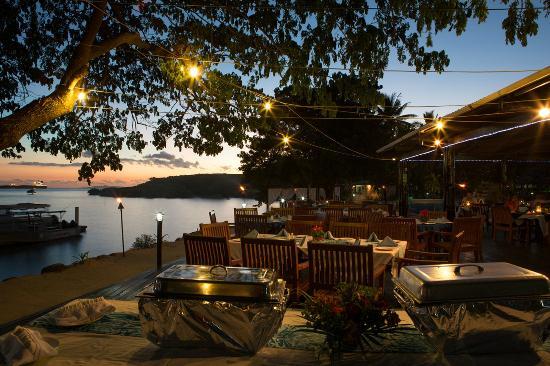 Anchorage Beach Resort Oceanfront Restaurant Deck
