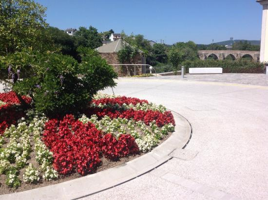 Hotel Balneario de Lugo: Entrada do hotel!