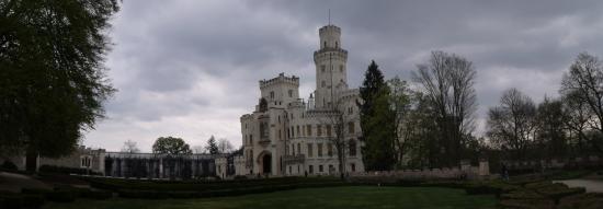 Hluboka Nad Vltavou Castle: Castelo e paisagem