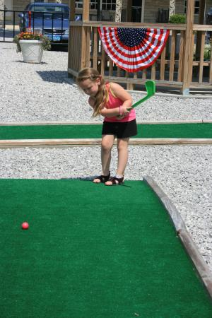 Liberty, KY: Mini golf.  Fun for all ages.