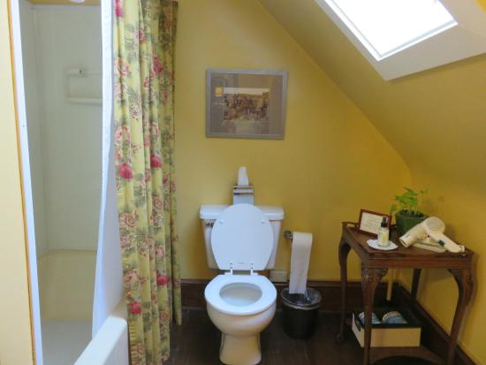 The Lancaster Bed and Breakfast : en-suite for foxglove room