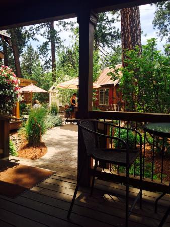 Open Door Wine Bar: From the Porch