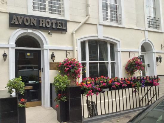 Avon Hotel: Attractive entrance