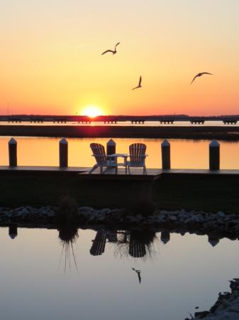Comfort Suites Chincoteague : Breathtaking Sunsets