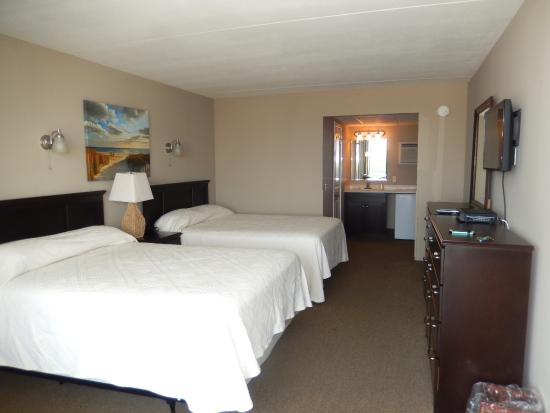 Tradewinds Motor Lodge: Another newly renovated room
