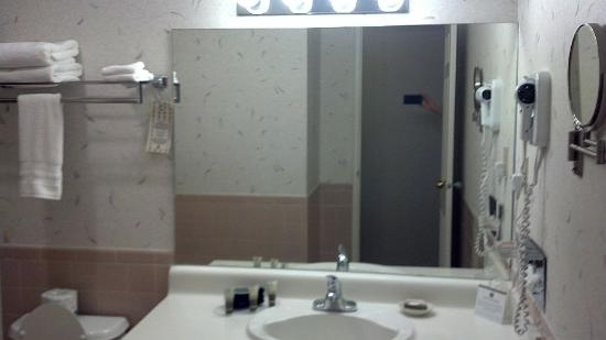 BEST WESTERN Westfield Inn: Bathroom