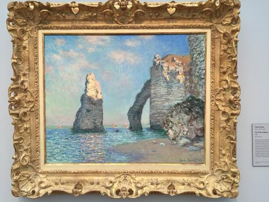 Williamstown, MA: Monet, The Cliffs at Étretat
