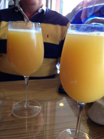 Rocky Bay Cafe : The mimosas!!