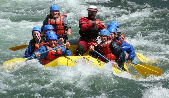 Kimberley Raft Co : Not as hard as it looks but cold