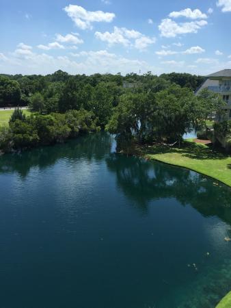 Litchfield Beach & Golf Resort: View from room balcony at Summerhouse