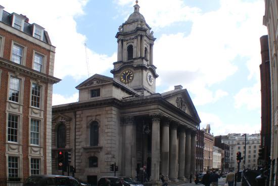 Foto de St. George's Church, Londres: Hanover Square - Tripadvisor