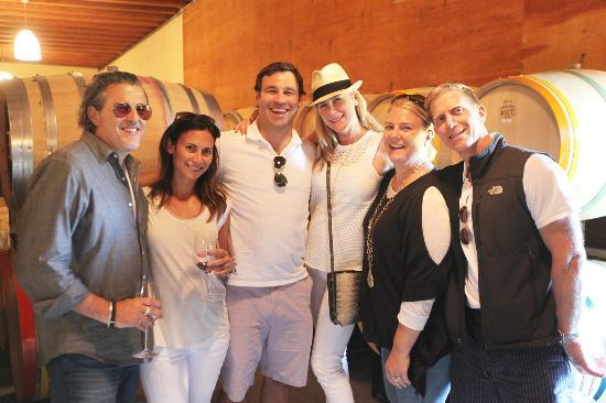 Sonoma County, CA: Happy tourists!