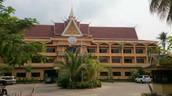 Angkor Hotel : Fachada