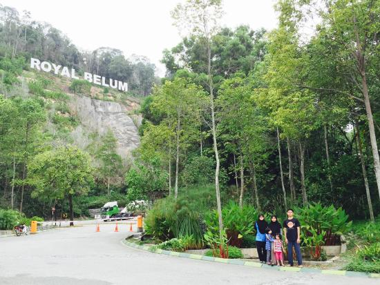 Belum Rainforest Resort: Resort Entrance