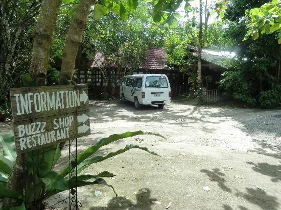 Bohol Bee Farm: Entry to the reception area
