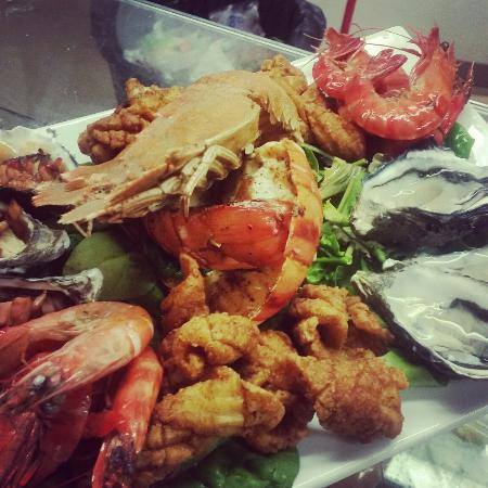 Zenbah Cafe & Beach Bar: Some of the beautiful food from the menu!