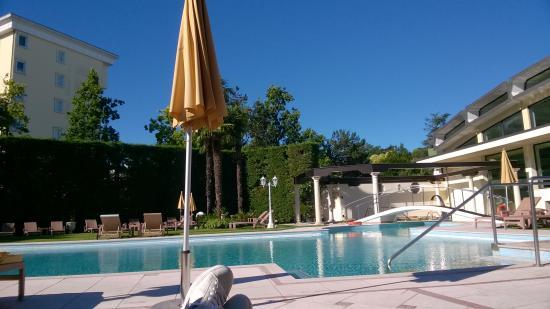 Hotel President Terme: Una delle piscine esterne