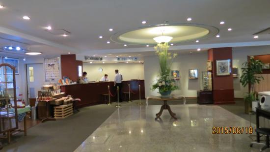 Hotel Riverge Akebono: ホテルロビー